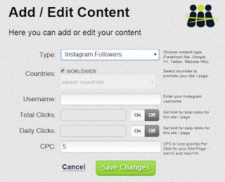 Cara Menambah Follower Instagram Dengan Bantuan Situs Addmefast