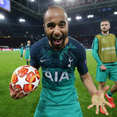 Lucas Moura's unbelievable second-half hat-trick saw Tottenham snatch a 3-2 win at Ajax and a place within the Champions League final on away goals. play maker Moura's unbelievable second-half hat-trick saw Tottenham snatch a 3-2 win at Ajax and a place within the Champions League final on away goals.  As in last week's semi-final 1st leg, Erik 10 Hag's aspect were swimmingly into their work by the time sacred captain Matthijs de Ligt headed a fifth-minute opener.