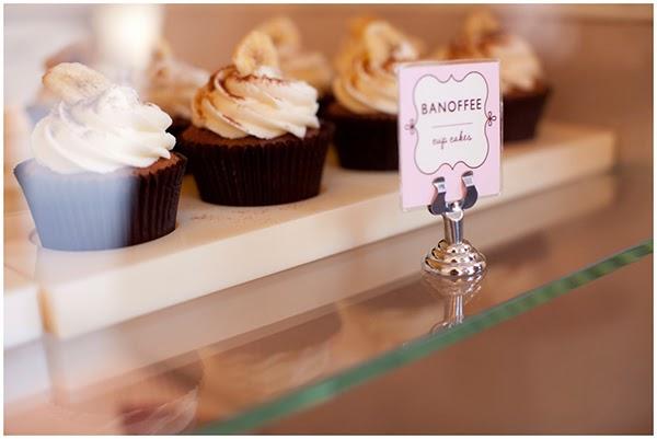 Banoffee Cupcakes in Peggy Porschen Cakes
