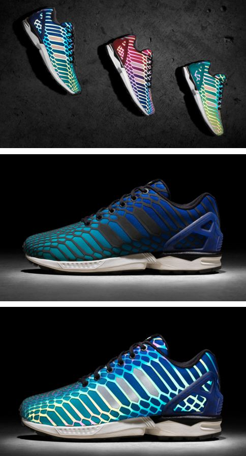 32c26a72f5c60 The  XENO Negative  ZX Flux is a continuation of adidas Originals  introducing the innovation light technology to other silhouettes including  Pro Model