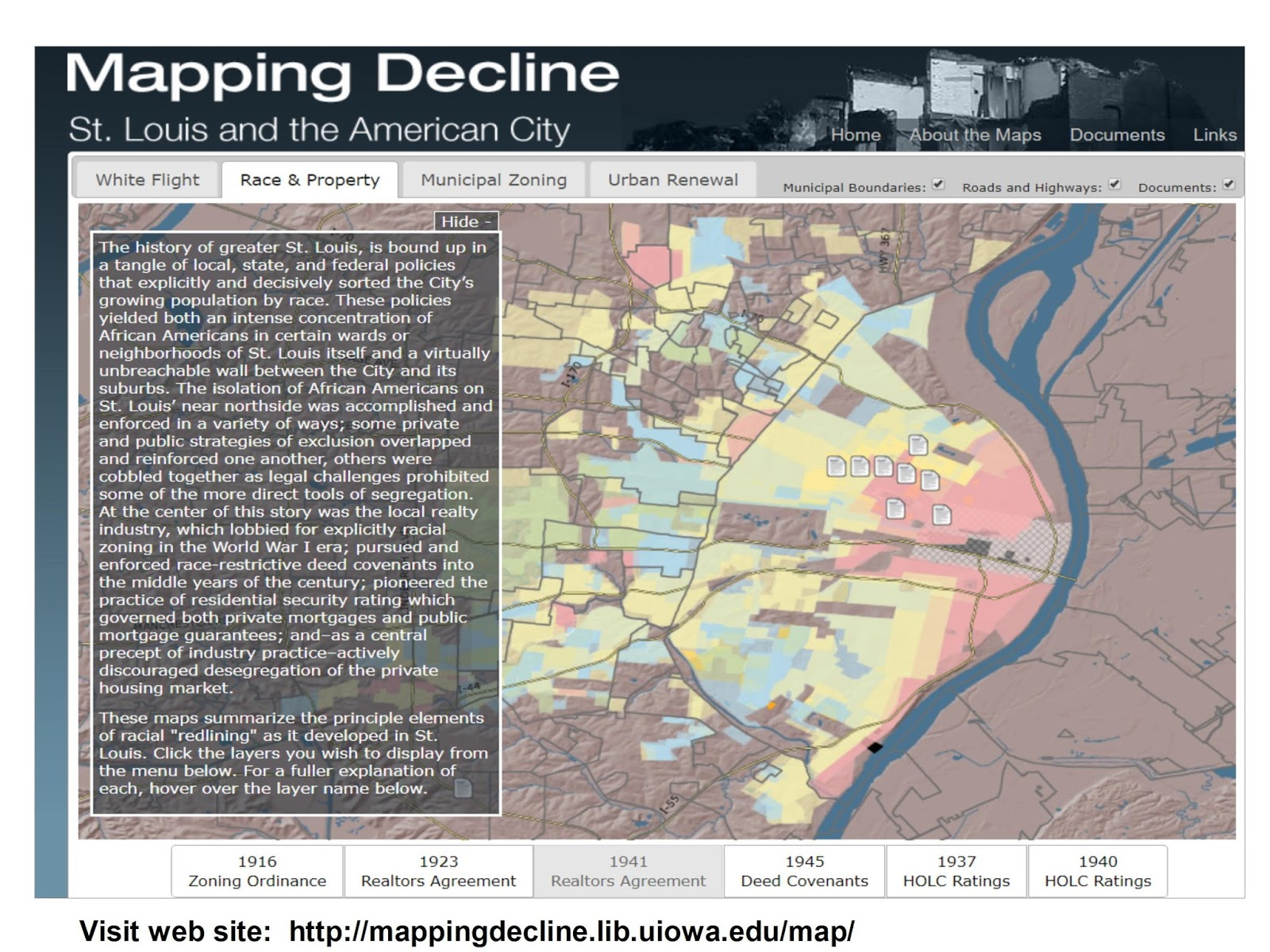 mapping decline st louis and the american city