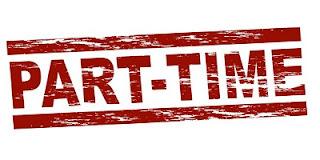 Gambar logo lowongan kerja part time cocok untuk siswa dan mahasiswa