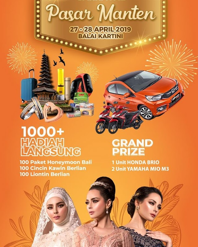 Multimedia Wedding Carnaval Pasar Manten 2019