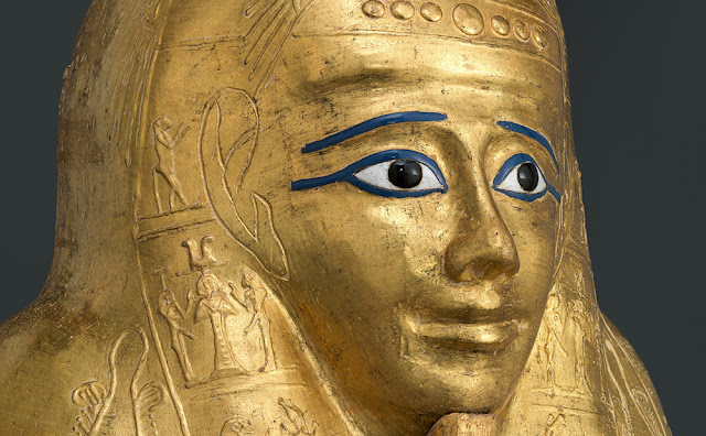 The Metropolitan Museum of Art acquires ancient Egyptian gilded coffin