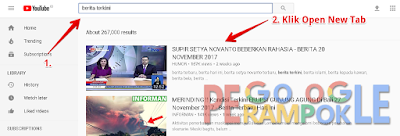 Mengintip Tag video kompetitor di youtube