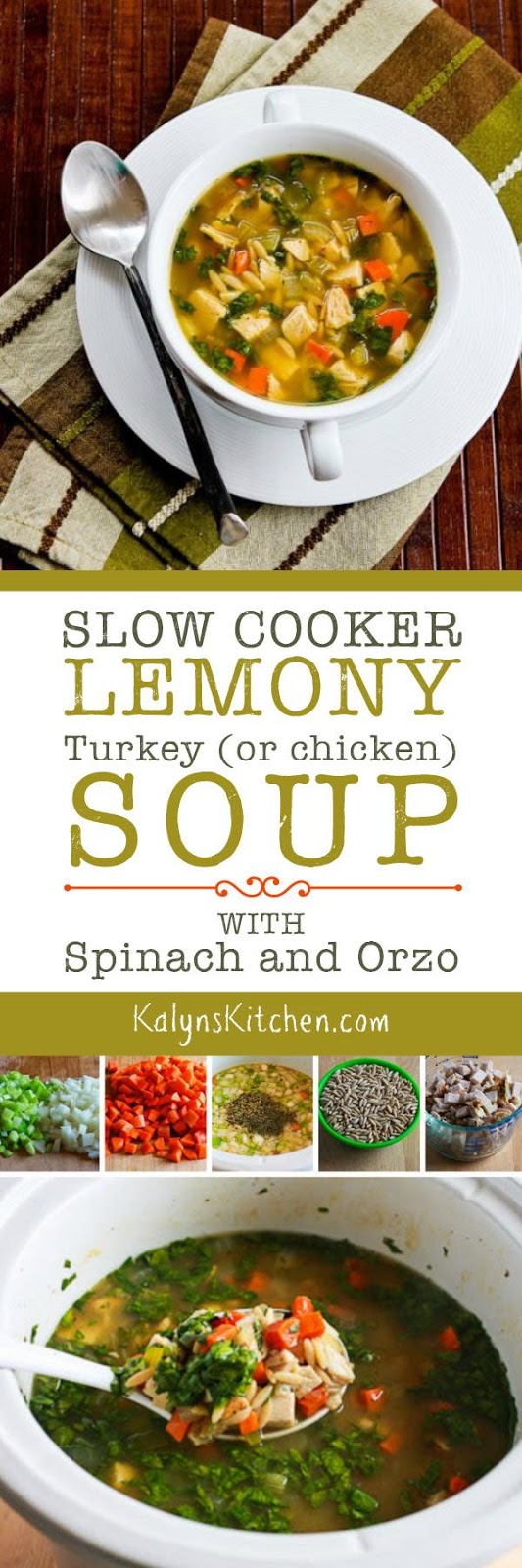 Zo S Kitchen Chicken Orzo Slow Cooker Lemony Turkey Or Chicken Soup With Spinach And Orzo