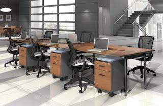 Modular Office Benching