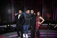 Shalmali Kholgade, Karan Johar,m Shekhar and Baadshah (2) ~  Exclusive.JPG