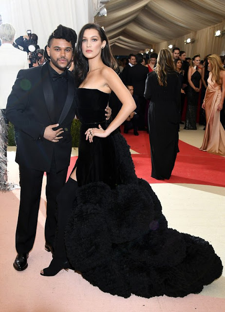 MET Gala 2016: The Weeknd & Bella Hadid