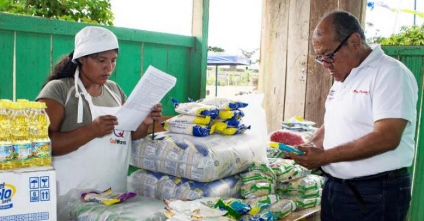 QALI WARMA: Comités de Alimentación Escolar de Huánuco recepcionaron última entrega de alimentos que brinda el Programa Social - www.qaliwarma.gob.pe