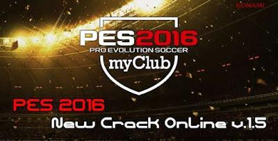 PES 2016 New Crack Online v.1.5