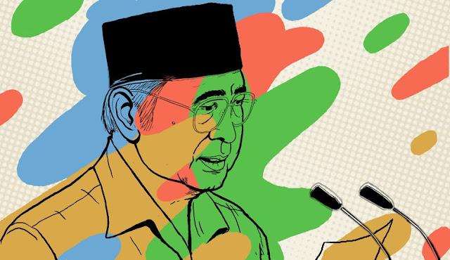 PDIP Stempel Soeharto Guru Korupsi