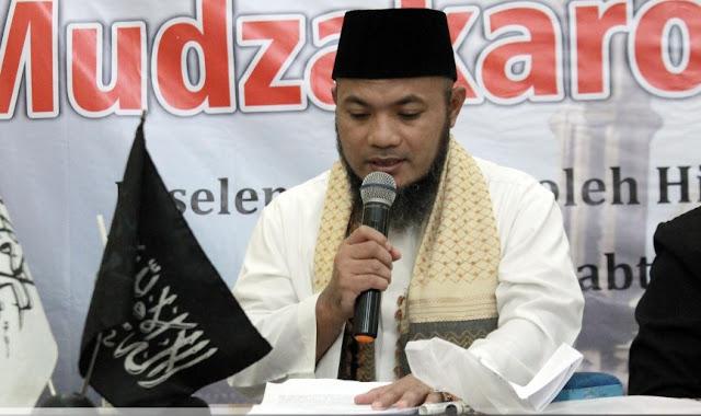 KH. Nasrudin Pengasuh Pondok Pesantren Al Mabda Al Islamy