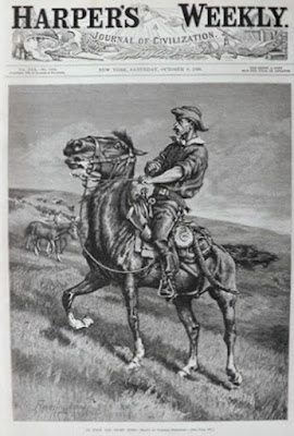 harpers weekly frederic remington