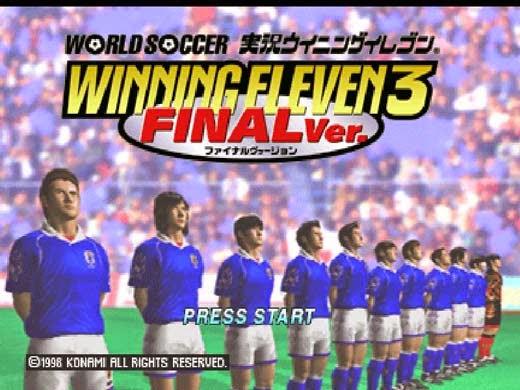 اليابانية Winning eleven 3 للكمبيوتر