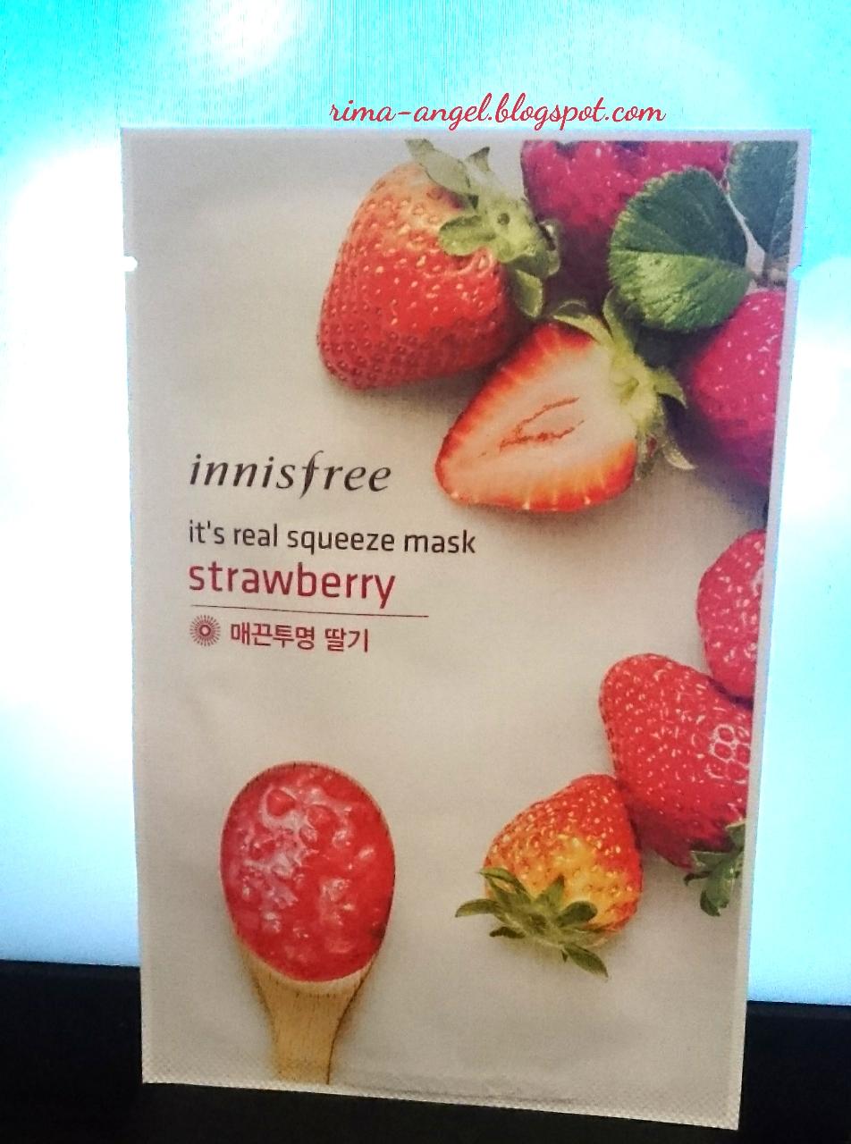 Web Versi Mobile Innisfree Mask Its Real Squeeze Masker Wajah Sheet Bagian Belakang Ini Ada Mengenai Nya Sendiri Cara Penggunaan Ingredients Perusahaan Barcode Dan Exp