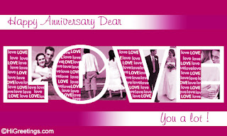 Anniversary greeting Wishes cards