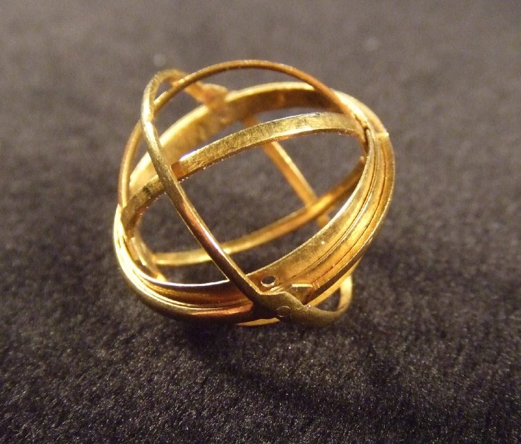 Stunning 400-Year-Old Rings Unfold To Reveal Astronomical Spheres