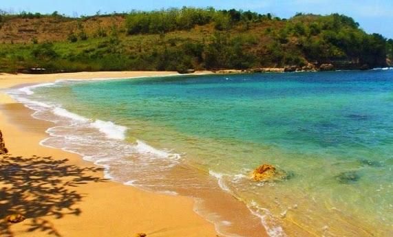 Rute Lokasi dan Harga Tiket Masuk Pantai Pangi Blitar