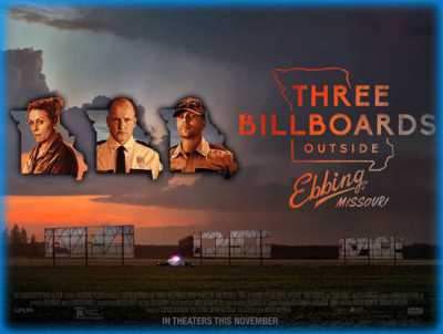 Three Billboards Outside Ebbing Missouri 2017 Dual Audio Hindi - English 400mb BluRay