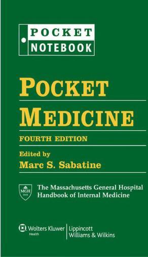 Pocket Medicine: The Massachusetts General Hospital Handbook of Internal Medicine PDF Book