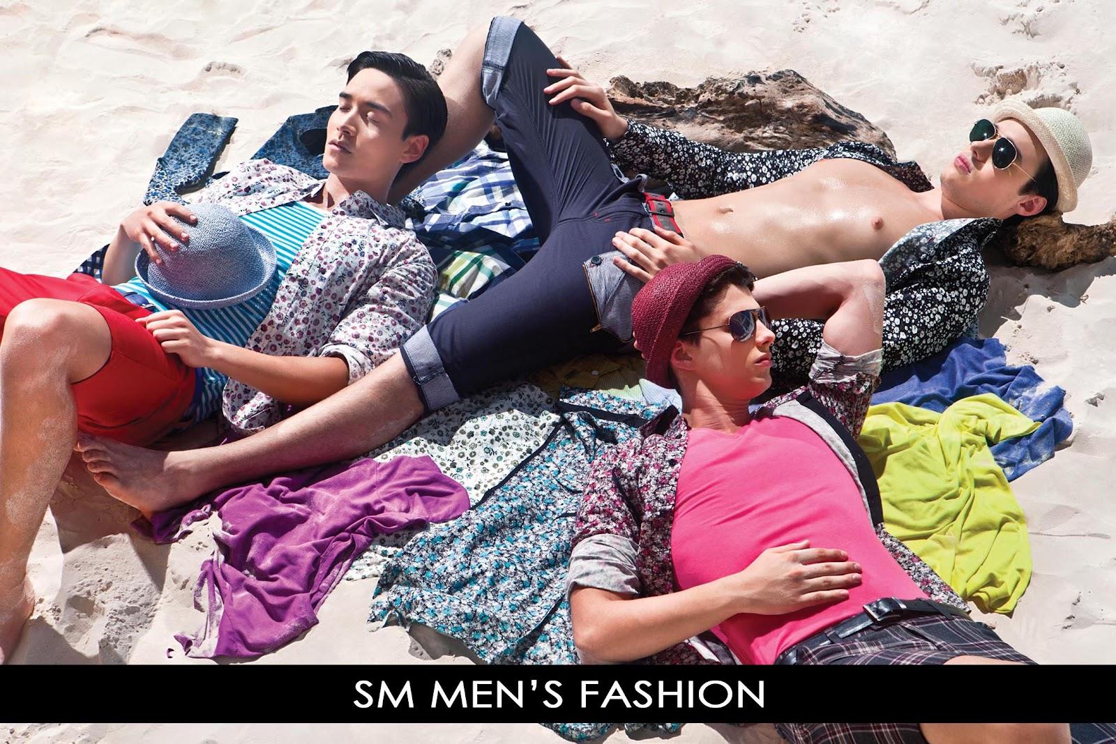 PINAS FASYON: COME ON OVER, BABY! The Boys of SM Men's ...