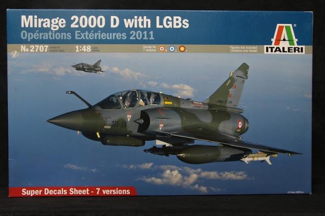 Mirage 2000D Italeri 1/48