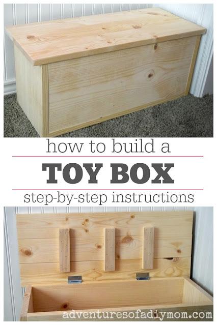 wooden toy chest