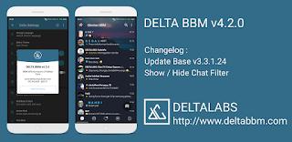 BBM DELTA v4.2.0 Versi 3.3.1.24 Apk