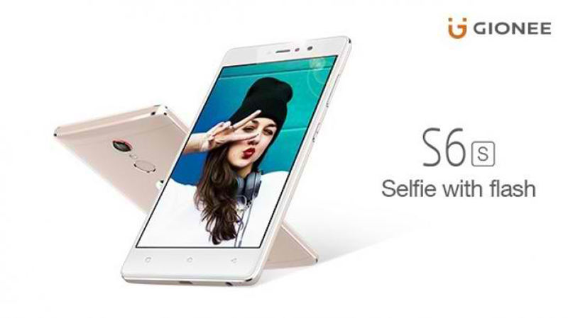 Gionee S6s Teased, A Stylish Selfie Machine?