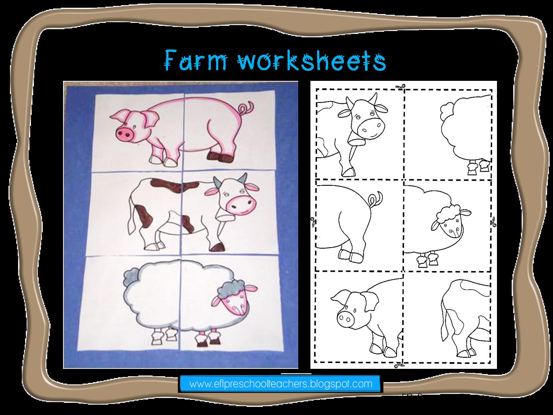 Esl Efl Preschool Teachers Farm Theme Ideas For Preschool Ell
