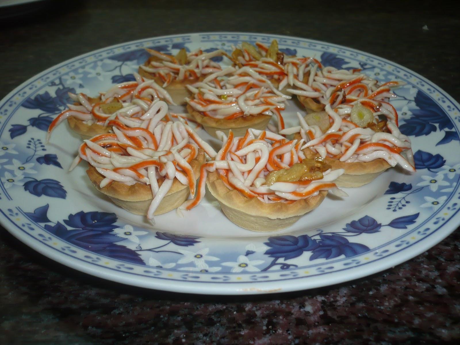 En la cocina con ana tartaletas de cangrejo - Ana en la cocina ...