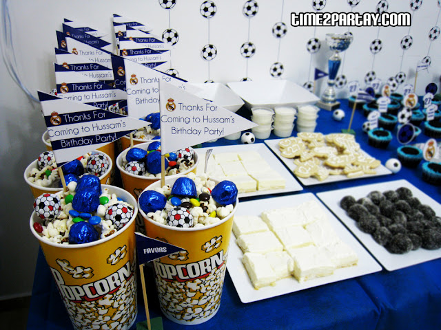 Real Madrid Soccer Themed Party Time2partay Com