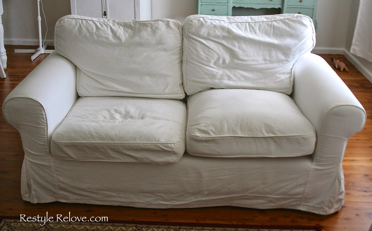 how to restuff ikea ektorp sofa cushions cheap easy and quick. Black Bedroom Furniture Sets. Home Design Ideas
