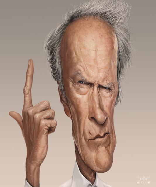 Clint Eastwood por Yoann Lori
