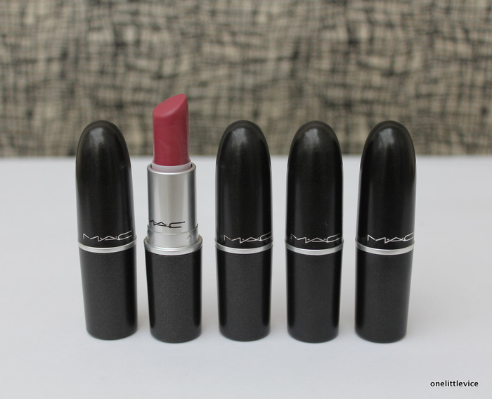 One Little Vice Beauty Blog: Mac Lustre Lipstick Plumful