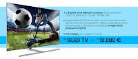 Castiga un Samsung QLED Smart TV sau 10.000 €