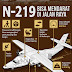 N219 Bisa Mendarat di Jalan Raya, Cocok untuk Pemda Terpencil yang tak Punya Bandara