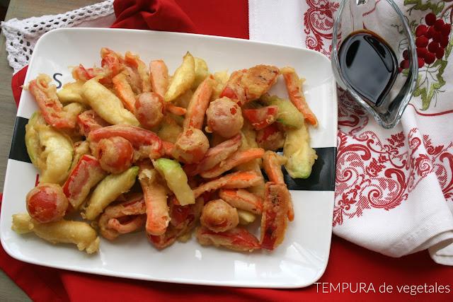 Tempura,tempura de verduras