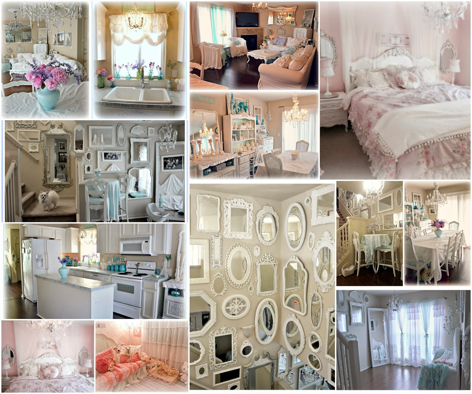 Home Decor Blogs Shabby Chic: Shabby Chic: Spot Light On Me :