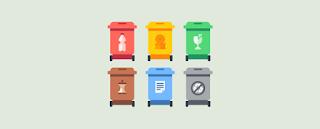 Palestra sobre a importância do descarte correto do lixo