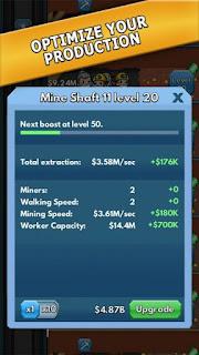 Idle Miner Tycoon Apk v1.5.0 Mod Unlimited Money Terbaru