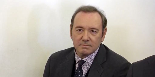 Academy Award winner Kevin Spacey appeared in court today to enter a plea of not guilty to a single felony charge of indecent assault and battery in regard to allegations involving an 18-year-old male at a Nantucket bar in 2016.
