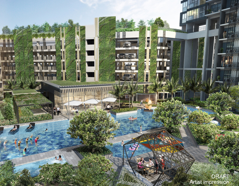 Gem Residences Pool