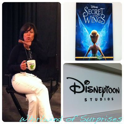 Peggy Holmes Interview, Secret of the WIngs