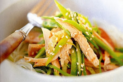 Sesame turkey salad meal ideas
