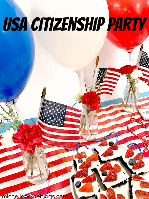 Celebrating a friend and her USA Citizenship