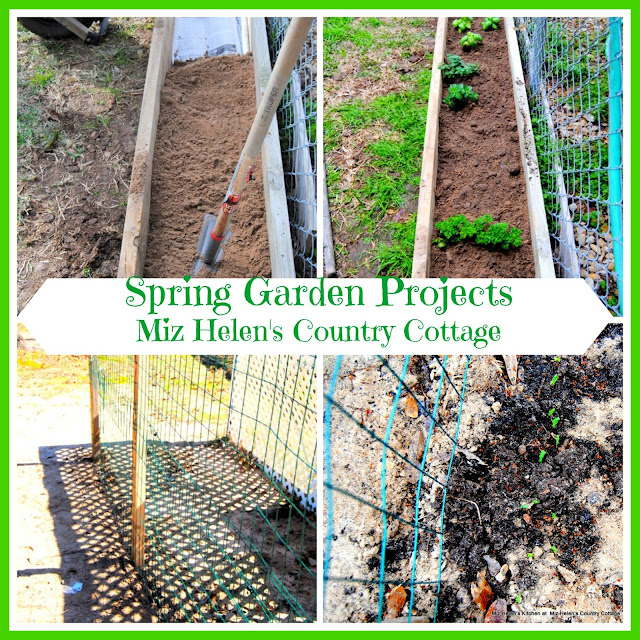 Spring Garden Projects -The Garden Gate at Miz Helen's Country Cottage