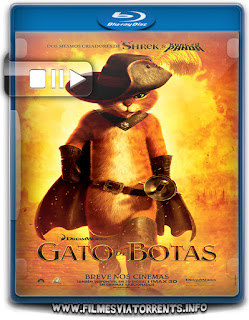 Gato De Botas Torrent - BluRay Rip 1080p Dual Áudio