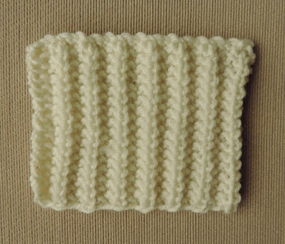 Chart; knitting stitch; mistake rib